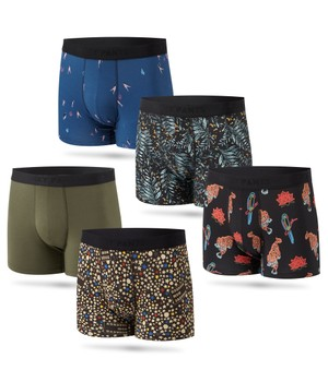 5 Pack Boxer Brief Print 1