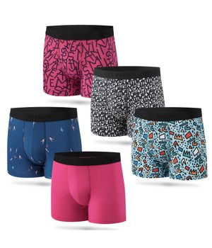5 Pack Boxer Brief Print 2