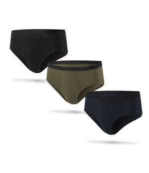 3 Pack Cheeky Brief Plain