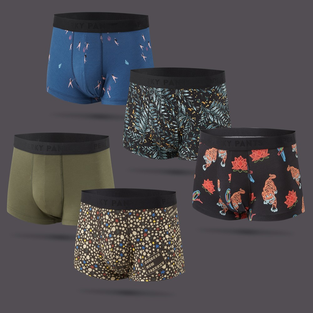 Men's 5 Pack Trunk #1