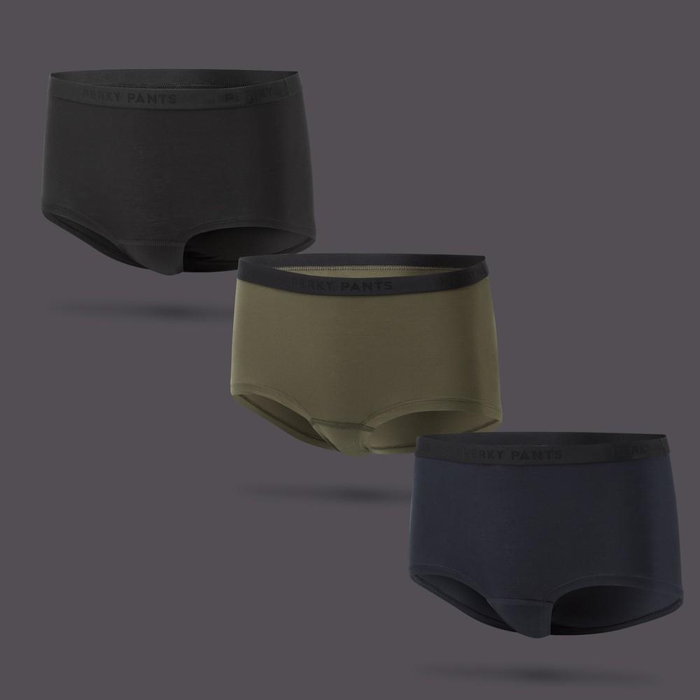 Women's 3 Pack Boy Shorts #1