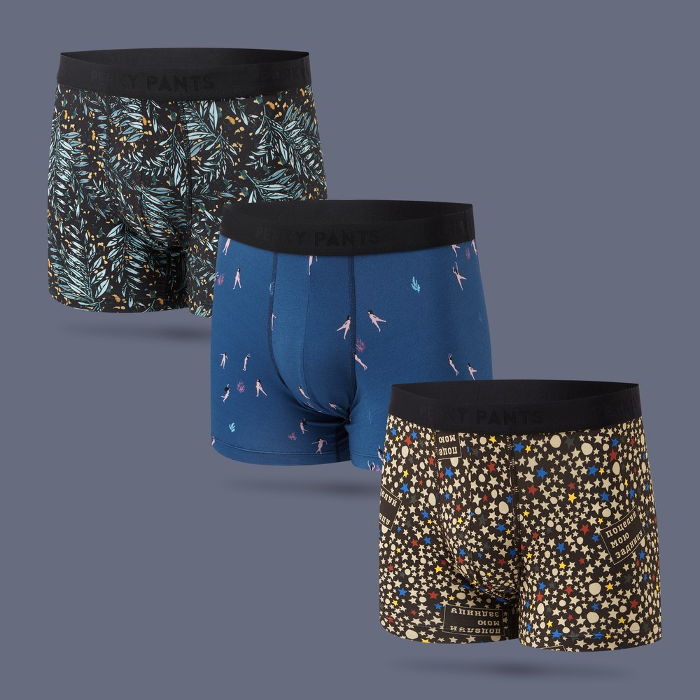 Men's 3 Pack Boxer Brief #1