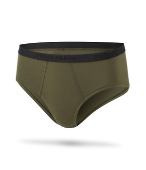 Cheeky Brief Camo Green